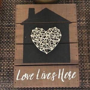 Other - Wall decor home decor item